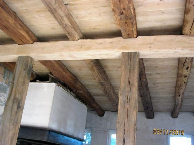 Holzdecke nachher