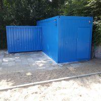 Fertig aufbereiteter Container